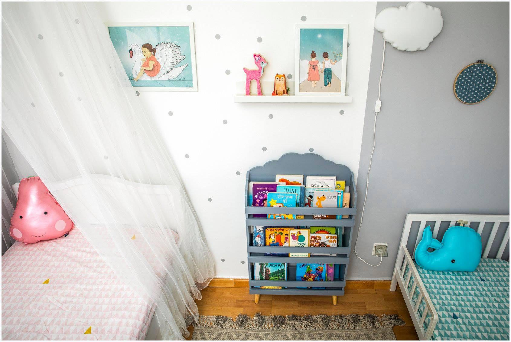 עיצוב חדר ילדים עפרי ורואי 0