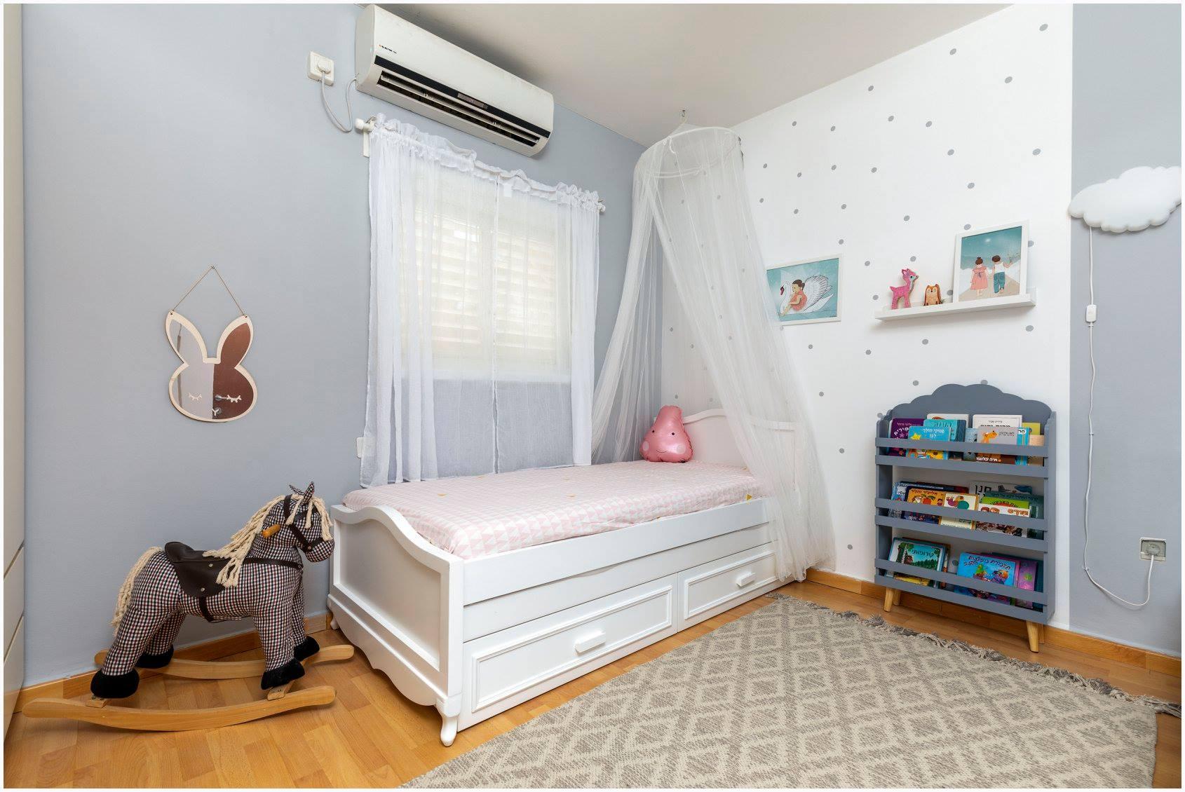 עיצוב חדר ילדים עפרי ורואי 02