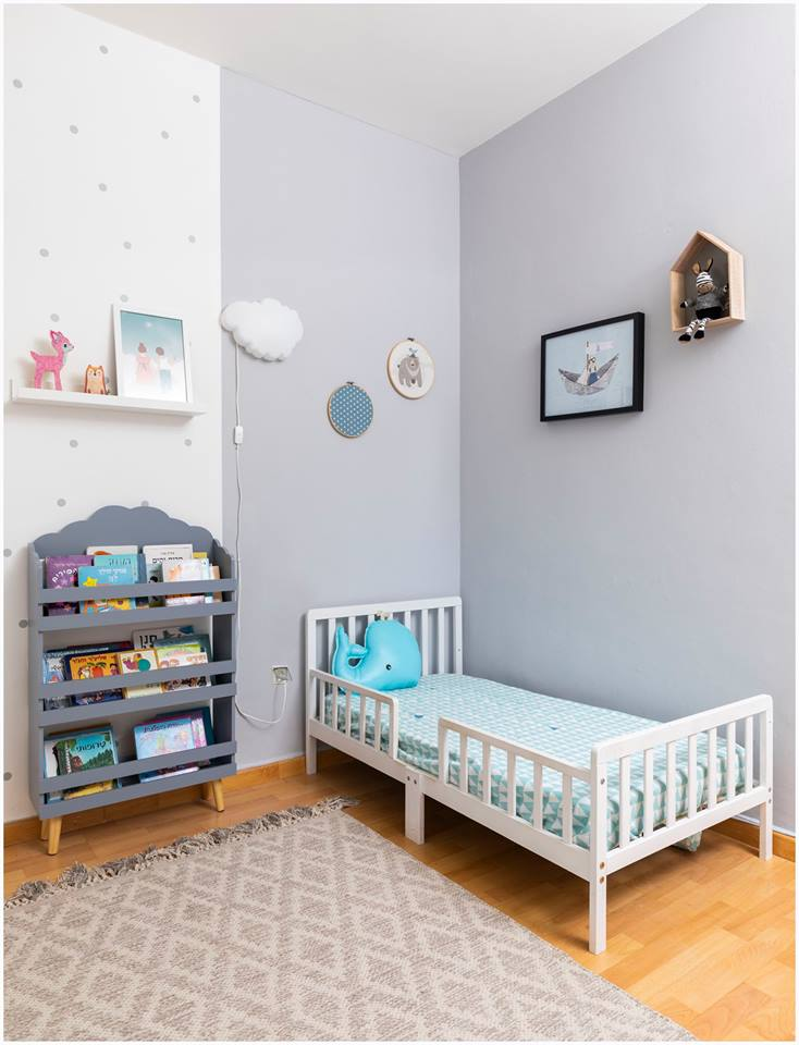 עיצוב חדר ילדים עפרי ורואי 03