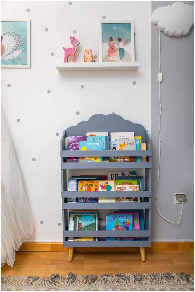 עיצוב חדר ילדים עפרי ורואי 04