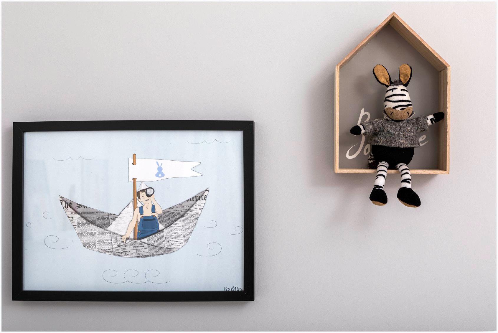 עיצוב חדר ילדים עפרי ורואי 11