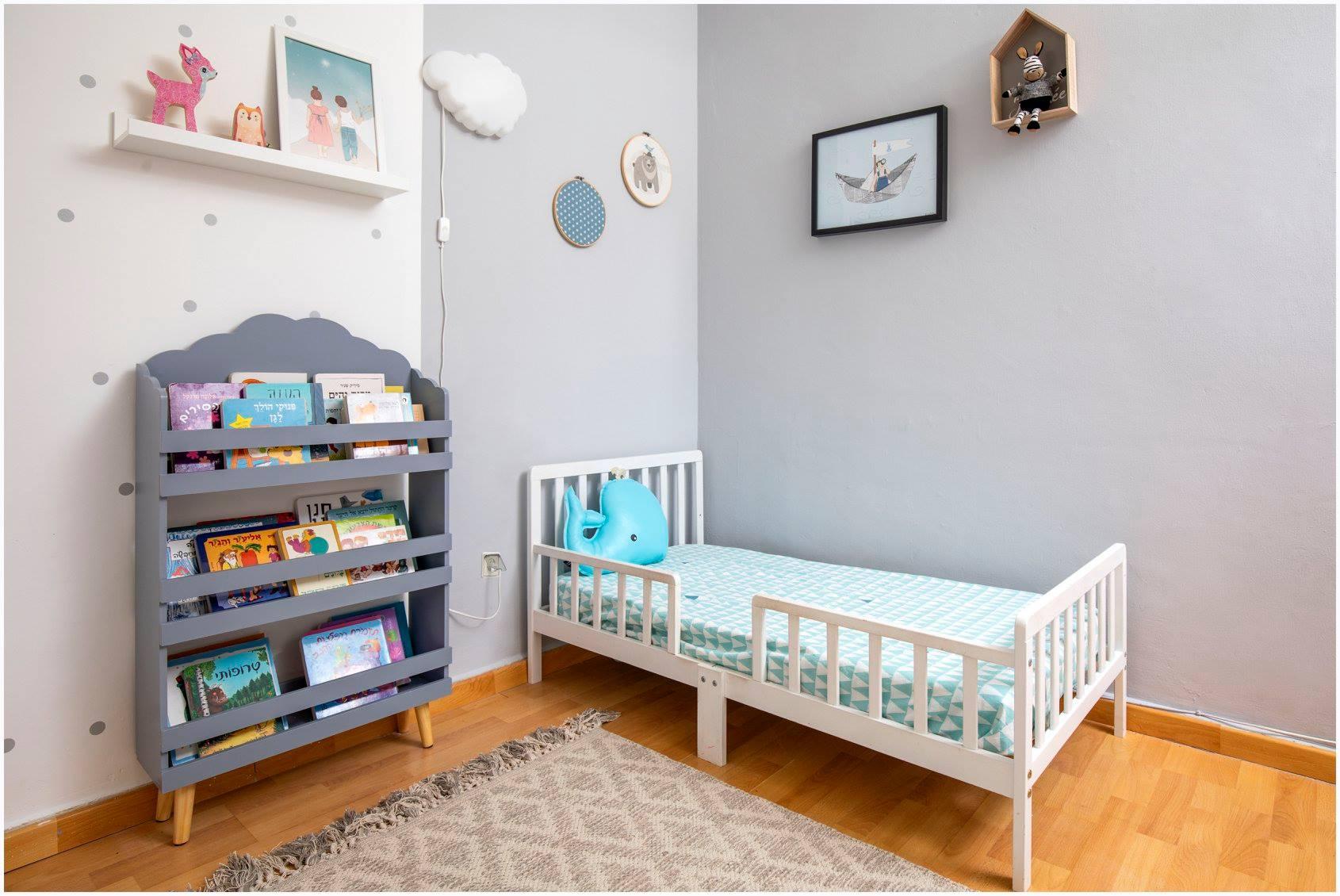 עיצוב חדר ילדים עפרי ורואי 19