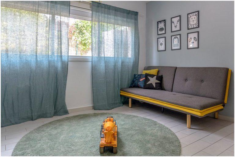 עיצוב חדר ילדים משותף וחדר משחקים 16