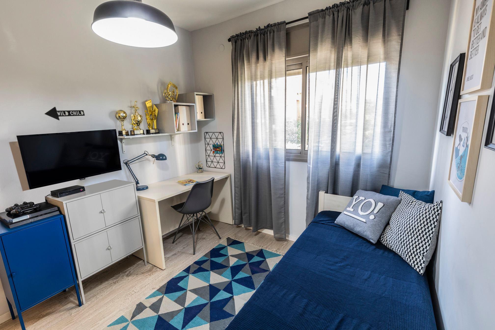 עיצוב חדר לילד - החדר של דולב 1